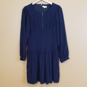 Rebecca Taylor navy casual dress sz 6